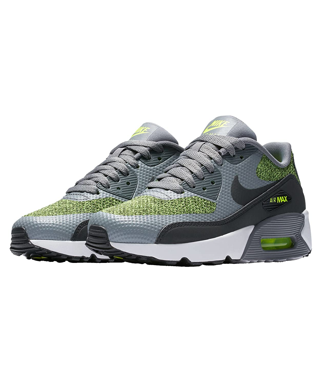 competitive price d1361 df1bc Amazon.com   Nike Air Max 90 Ultra 2.0 SE Cool Grey Anthracite-Volt (Big Kid)  (4 M US Big Kid)   Basketball