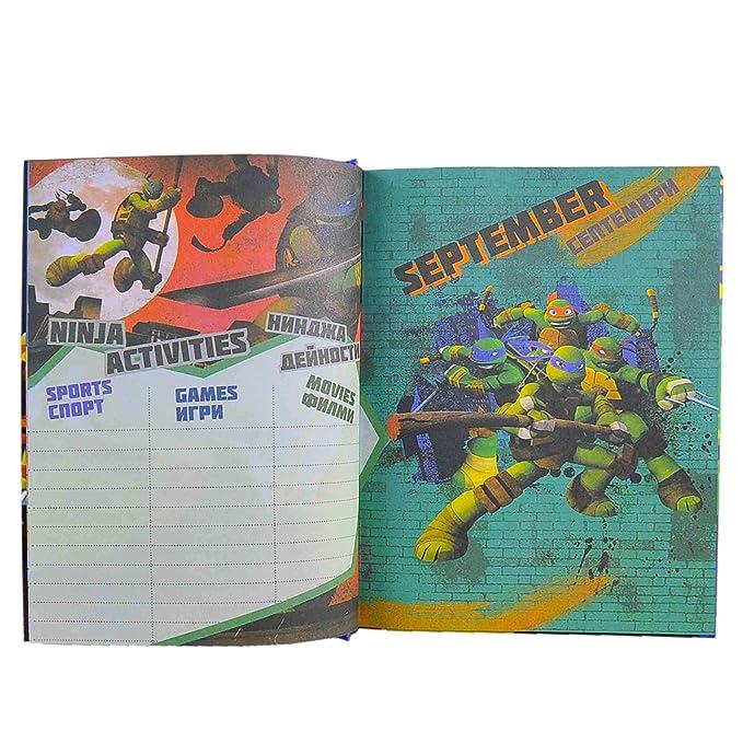 Gruppo Cartorama Diario Turtles Mutant Ninja cm.20: Amazon ...