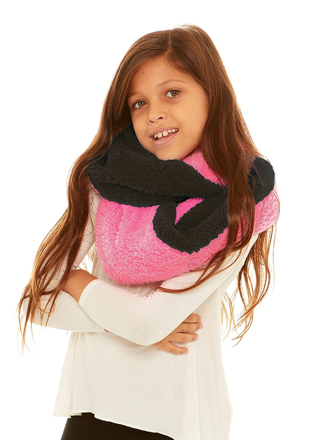 S.W.A.K Girls Loop Infinity Fashion Scarf B6B1552G-FB