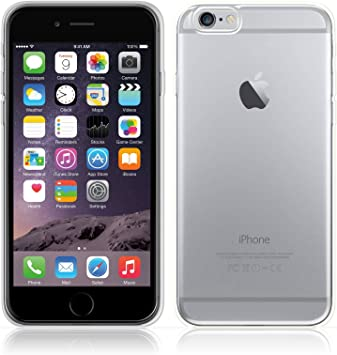 iPhone 6 / 6s Funda [Transparente Carcasa] Case Bumper Cover Suave ...