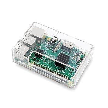 Amazon.com: loverpi Raspberry Pi 3 Caso – Transparente ...