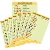 Baby Shower Baby Trivia Game 20 A5 Game Sheets