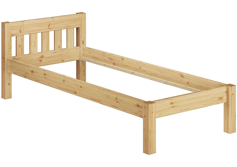 Erst-Holz® 60.38-10 Einzelbett mit Rollrost - 100x200 - Massivholz ...