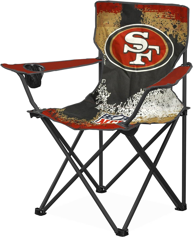 Idea Nuova NFL San Francisco 49 s Tween Camp Chair