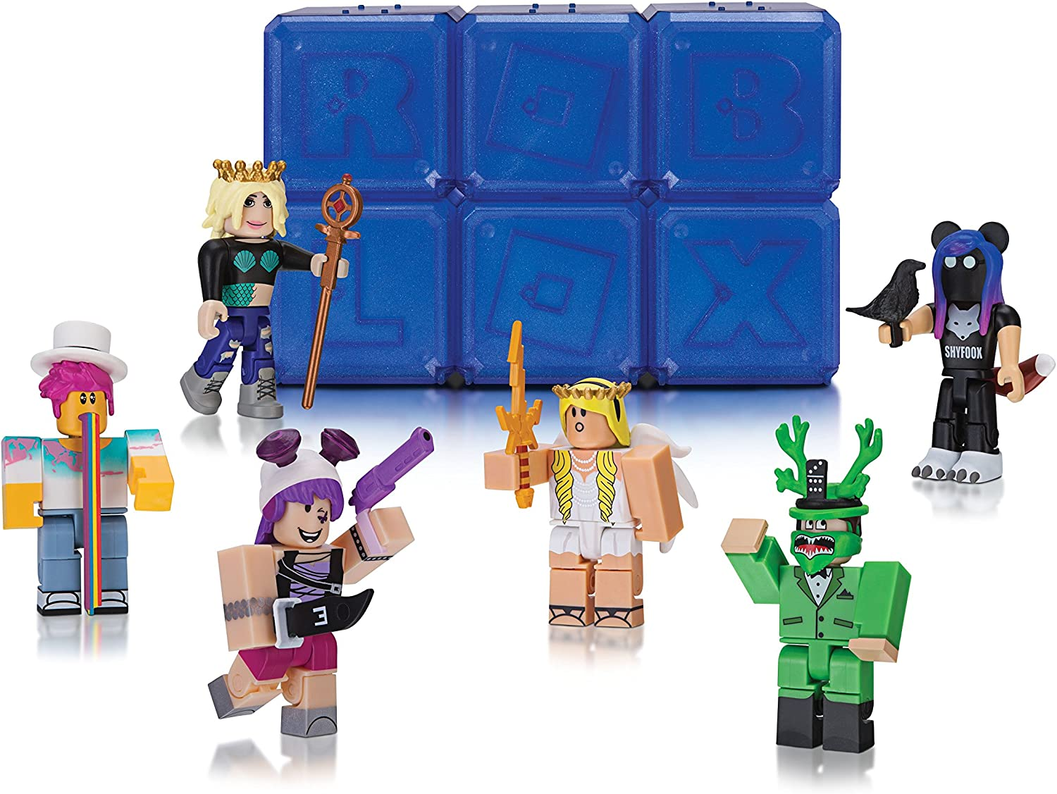 Roblox Celebrity Mystery Figure Series 2 Polybag Of 6 Action Figures - roblox figure series 2 mini figure with unused online code