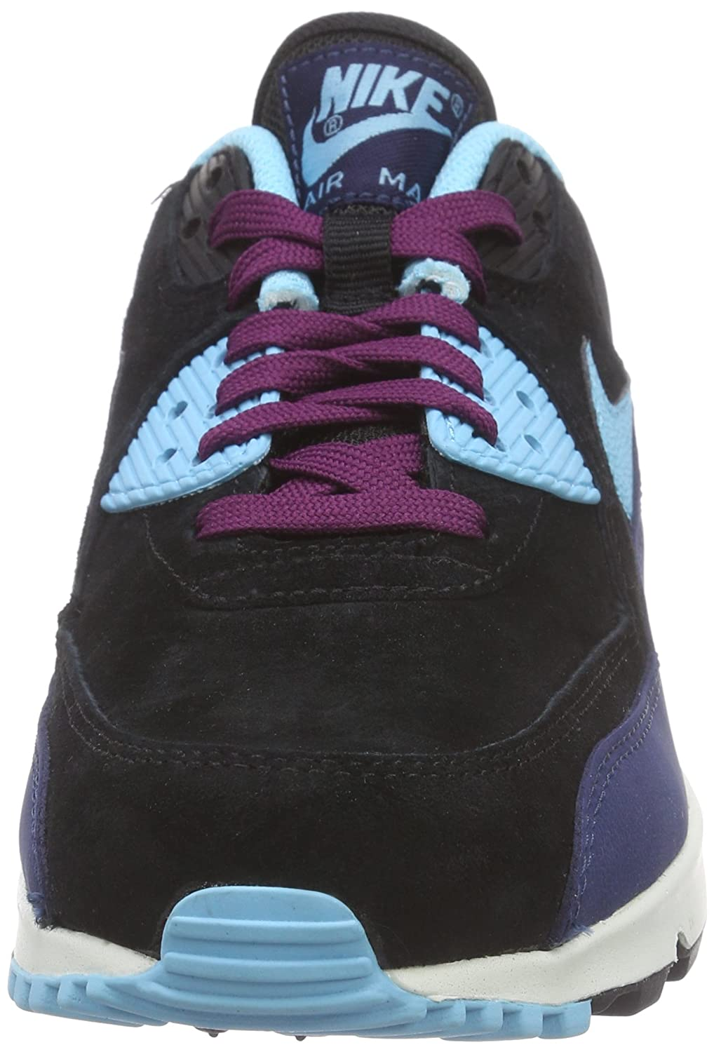 7b190f12ab Nike Air Max 90 Leather, Women's Low-Top Sneakers: Amazon.co.uk: Shoes &  Bags