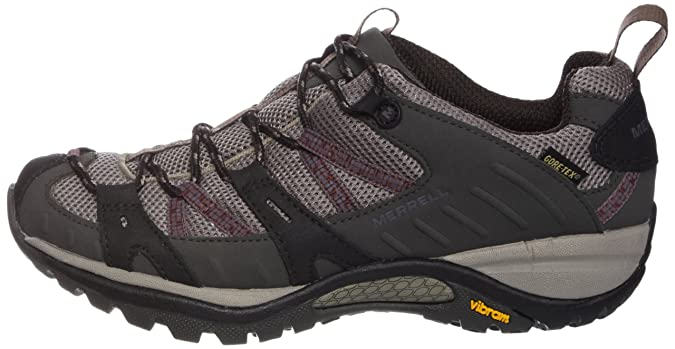 Amazon.com | Merrell Siren Sport Gore Tex Womens Walking Shoes UK 8 Dark Grey | Walking