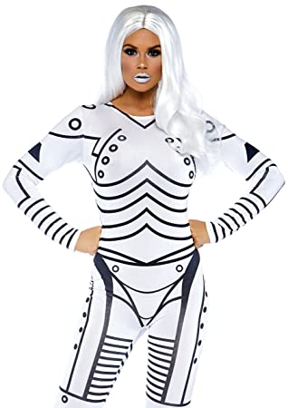 Leg Avenue 86639 u0026quot;Killer Robot Fancy Dress Costume ...  sc 1 st  Amazon UK & Leg Avenue 86639