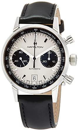 d3ce71980 Image Unavailable. Image not available for. Color: Hamilton Men's Intra-Matic  Auto Chrono ...