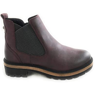 neueste d1c72 6f021 MARCO TOZZI Damen Stiefeletten Woms Boots 2-2-26423-21/542 rot 524412
