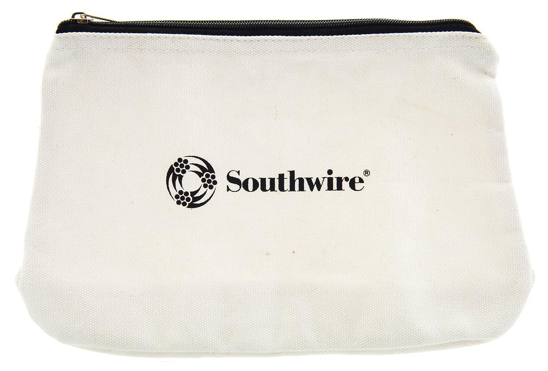 Southwire Tools Equipment BAG12 Canvas Zipper Tool Bag 12 Inch