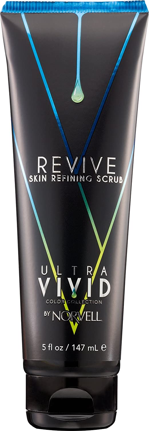 Norvell Ultra Vivid Color Collection Pre Self-Tanning REVIVE Skin Refining Body Scrub - Sulfate-free, 5 fl.oz.