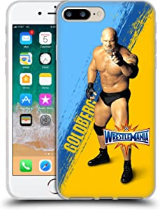Head Case Designs Officially Licensed WWE Goldberg Wrestlemania 33 Soft Gel Case Compatible with Apple iPhone 7 Plus/iPhone 8 Plus