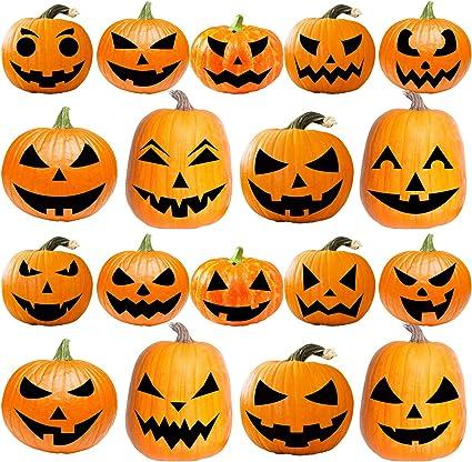 Amazon Com Uratot 18 Pack Halloween Pumpkin Decorating Craft Kits