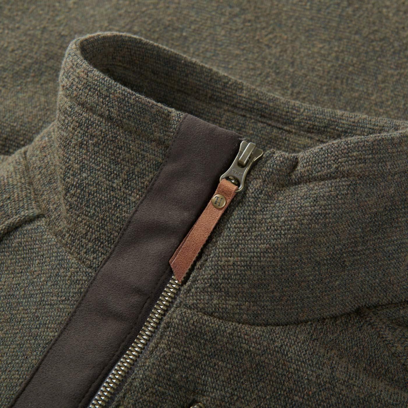 Membran und warmem HSP/®-Futter H/ärkila Jagdpullover f/ür Herren Nite HSP aus Baumwolle Warm Oliv mit HSP TM