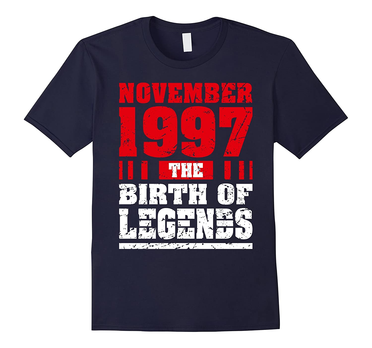 20 Years Old 20th Birthday Birth November 1997 Gift Apparel-FL