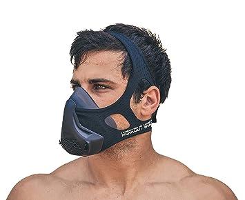 Máscara de entrenamiento por lykoss Rough ejercicios | 16 niveles de resistencia, alta elevación altitud