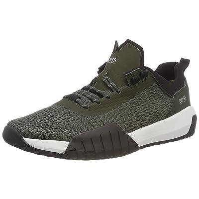 Boss Green Storm_Runn_act, Sneakers Basses Homme, Vert (Dark Green 301), 41 EU