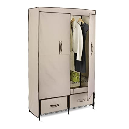 Amazon Honey Can Do Portable Wardrobe Storage Closet Home