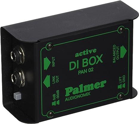 Palmer PAN02 - Caja de inyeccion activa: Amazon.es: Instrumentos ...