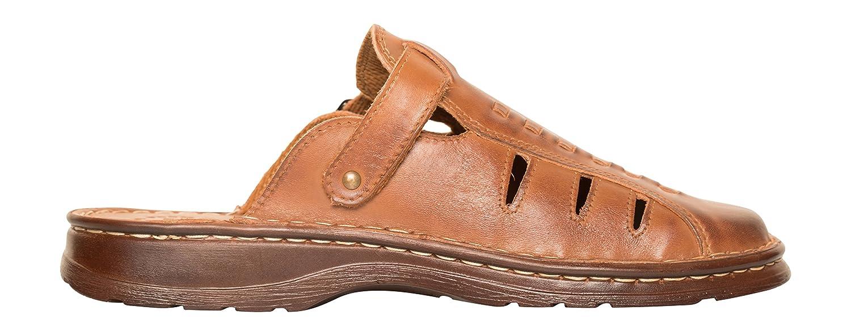 Lukpol Mens Comfortable Footwear Orthopedic Genuine Buffalo Leather Sandals  Shoes Model-801: Amazon.co.uk: Shoes & Bags