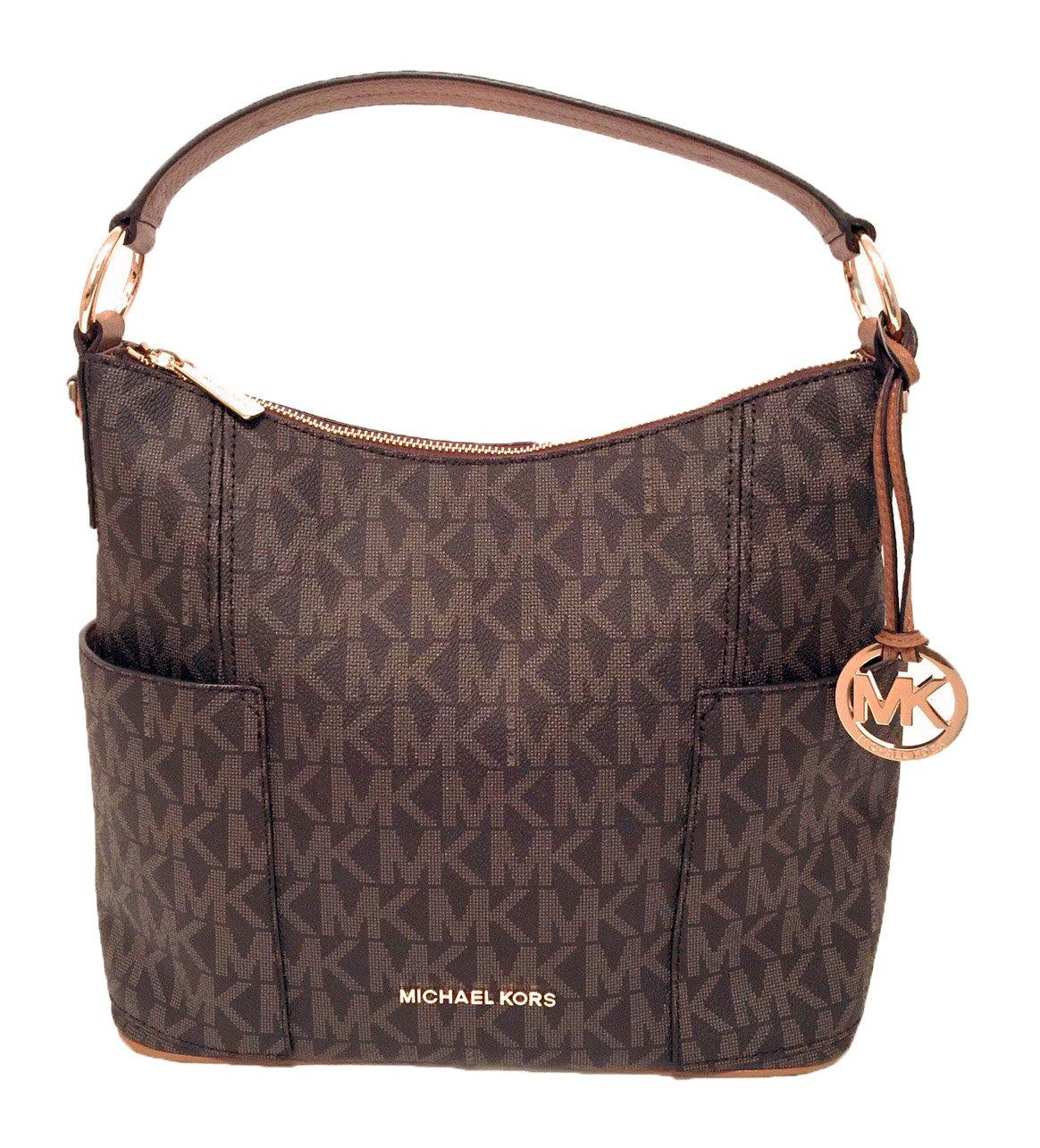 Michael Kors Anita Large Convertible Shoulder Bag (Brown)