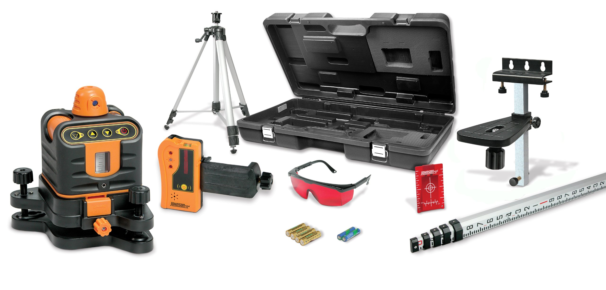 Johnson Level and Tool 40-6512 Manual Leveling Rotary Laser Level