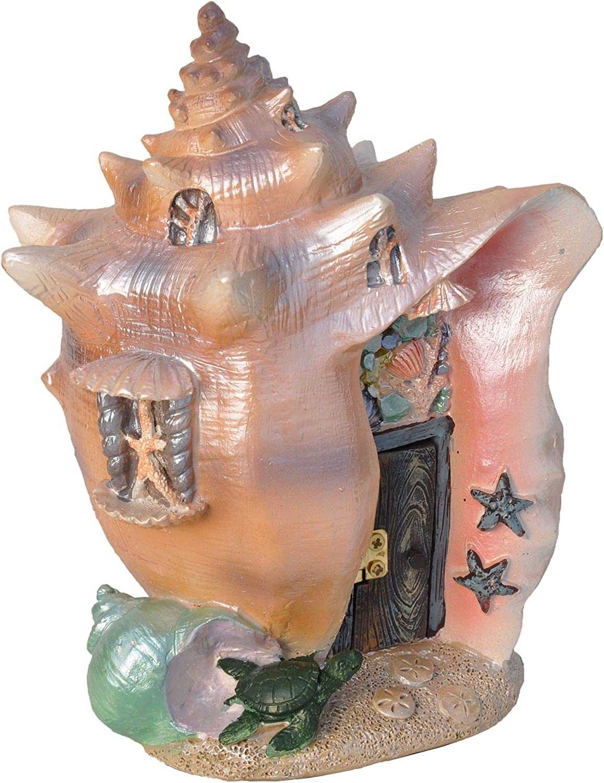 Fiddlehead Fairy Garden Conch Condo Shell Fairy House