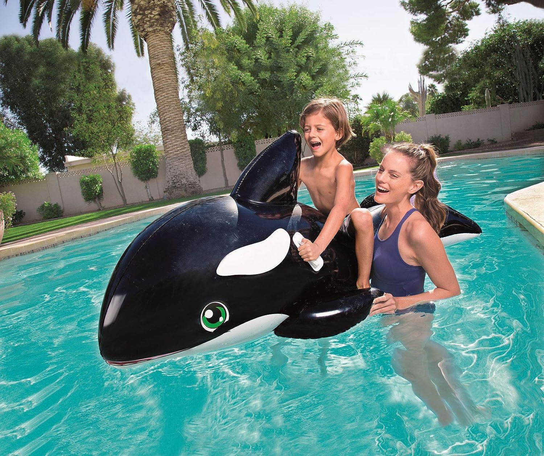 Bestway - Ballena inflable para piscina (203 x 102 cm): Amazon.es ...