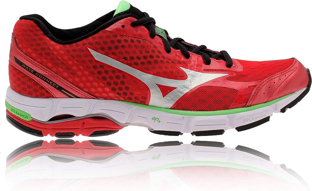 Mizuno Wave Connect Zapatillas de Running, Color Rojo, Talla 47 EU (13 UK): Amazon.es: Zapatos y complementos