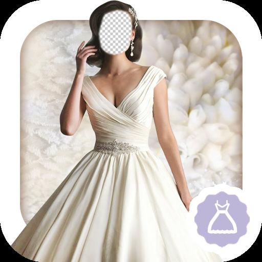 Fancy Dress Idea (Bridal Gowns Photo Montage)
