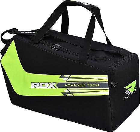 b5dfa2e802ff RDX Gym Gear Kit Bag Duffle Gymsack Gymnast Sports Backpack Fitness Sackpack