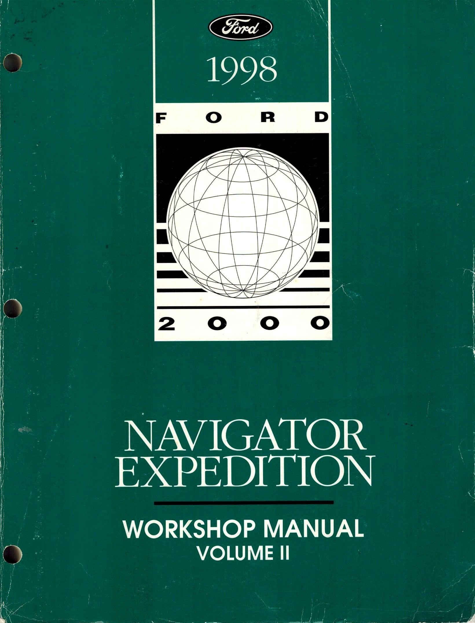 1998 Ford Navigator Expedition Workshop Manual (Volume II): Ford Motor  Company: Amazon.com: Books