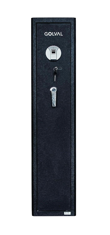 Golval RF3028 Quick Access Biometric Rifle Safe,Gun Safe,Cabinet 6 Guns