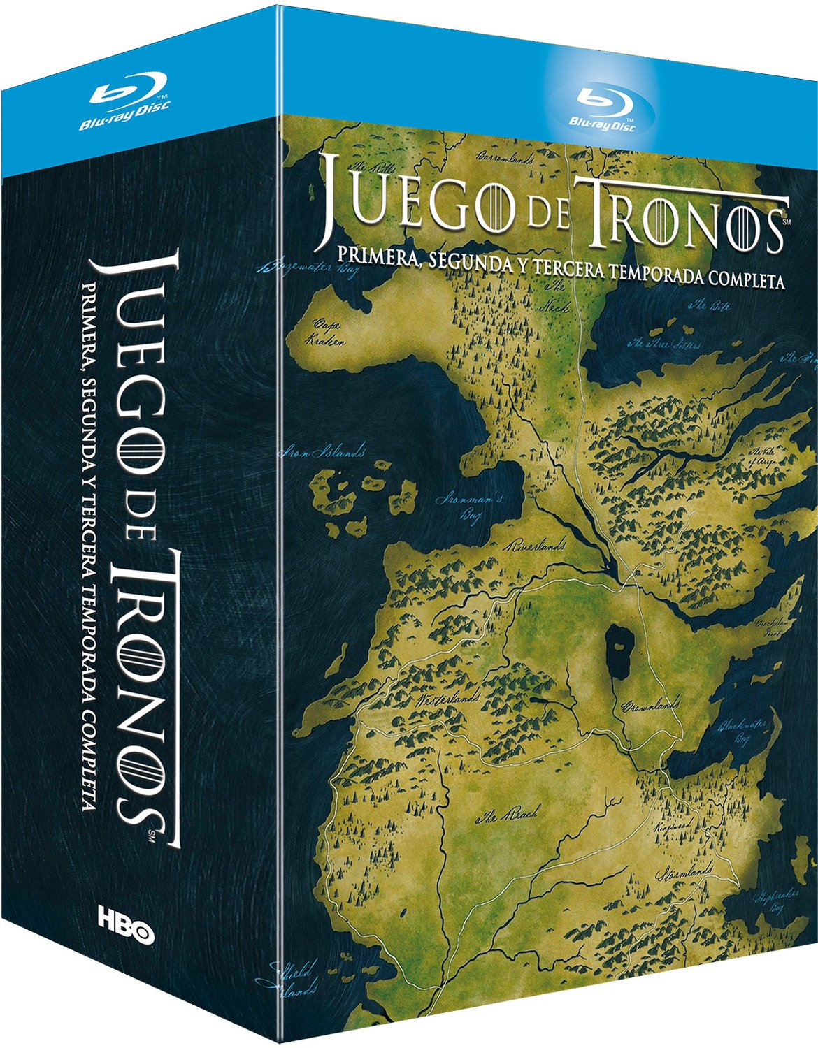 Juego De Tronos - Temporadas 1+2+3 Digipack Blu-ray: Amazon.es ...