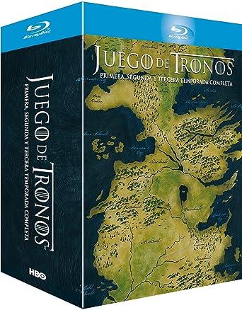 Juego De Tronos - Temporadas 1+2+3 Digipack Blu-ray: Amazon.es ...