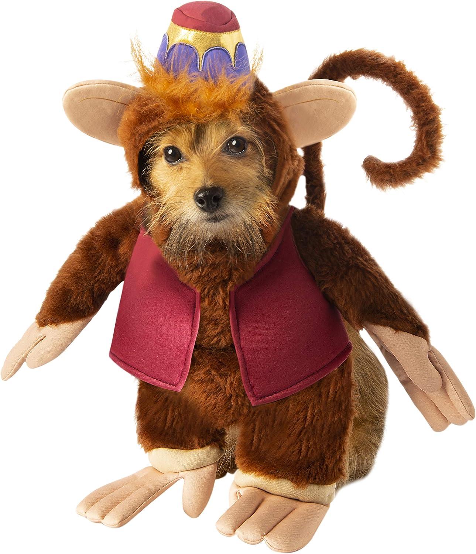 RubieS Disfraz Oficial de Disney Aladdin Abu para Perro, Talla S ...