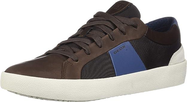 Geox U Warley B Sneakers Herren Braun/Blau