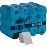Compact Coreless 2-Ply Recycled Toilet Paper by GP PRO (Georgia-Pacific), 19375, 1,000 Sheets Per Roll, 36 Rolls Per…