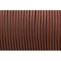 Câble électrique tressé de 5/10 m à 2 fils de couleur vintage, Noir, 5 m