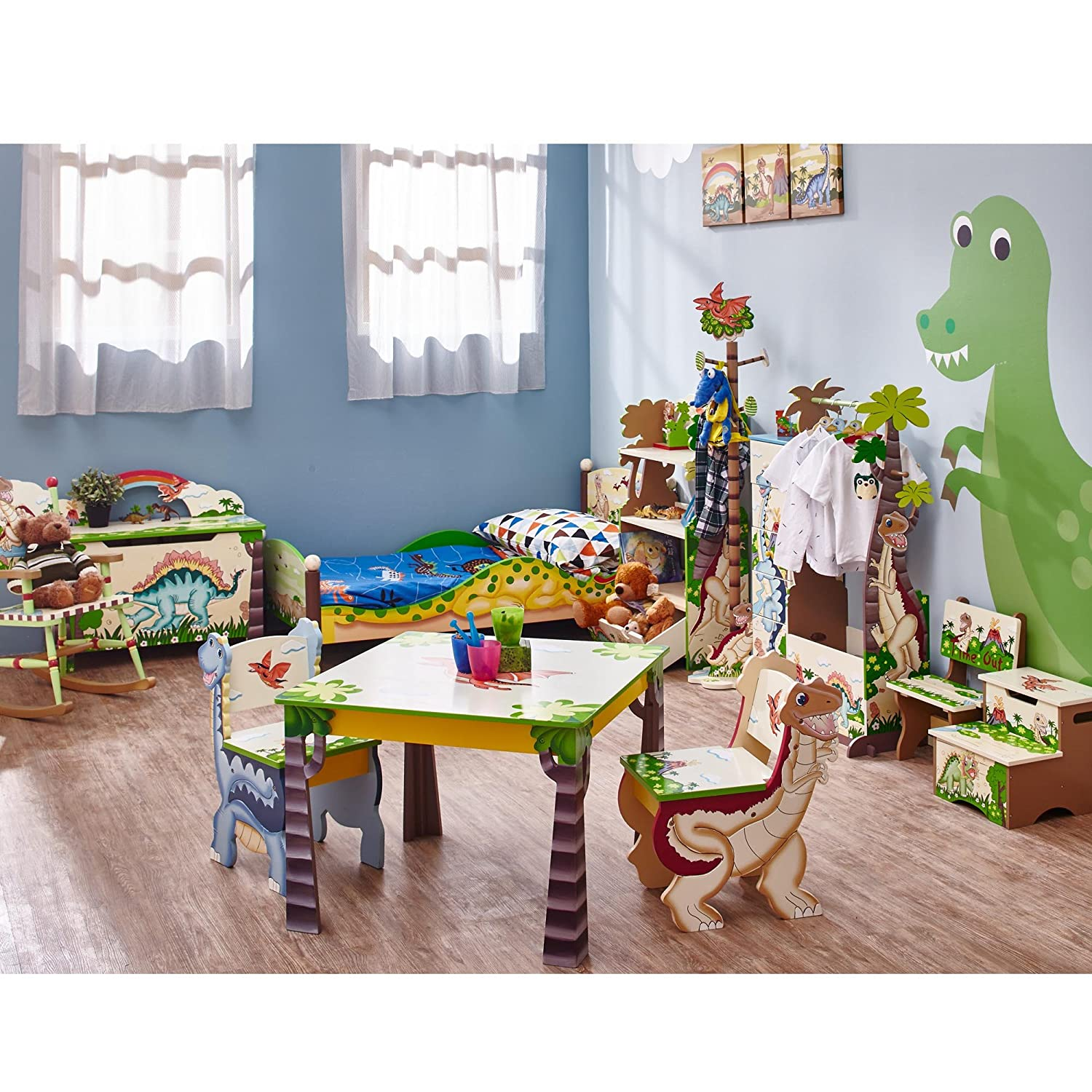 Fantasy Fields by Teamson Dinosaur Kingdom Childrens Wooden Kids