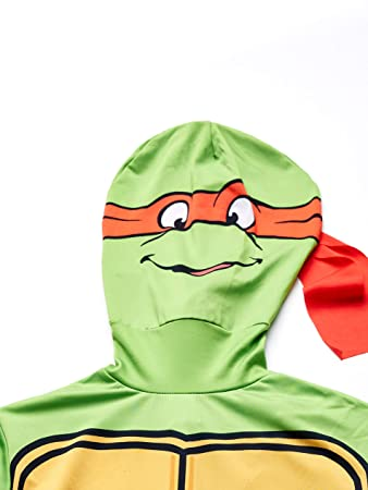 Rubies s Oficial Raphael 2 nd Skin Disfraz de Las Tortugas Ninja, Disfraz para Adultos – X-Large