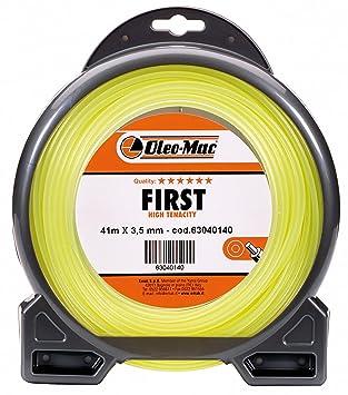 Hilo Desbrozadora Profesional Oleo Mac First sección redonda ...