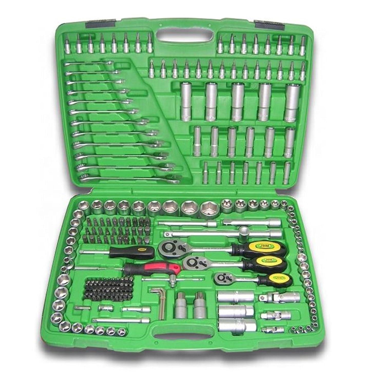 Caja de herramientas JBM 50895 de 216 piezas