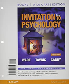 invitation to psychology 7th edition pdf free download