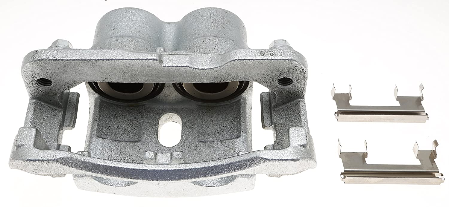 Remanufactured ACDelco 18FR1378C Professional Front Disc Brake Caliper Assembly without Pads Friction Ready Coated