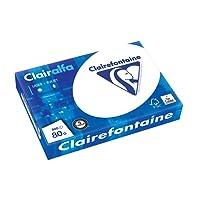 Clairalfa 1979C,  Ramette 500 feuilles Papier 80g A4 , Blanc