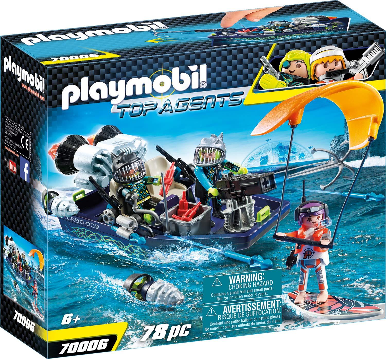 Playmobil Top Agents 70006 Set de Juguetes - Sets de Juguetes (Acción / Aventura, 6 año(s), Niño, Interior,, Gente): Amazon.es: Juguetes y juegos