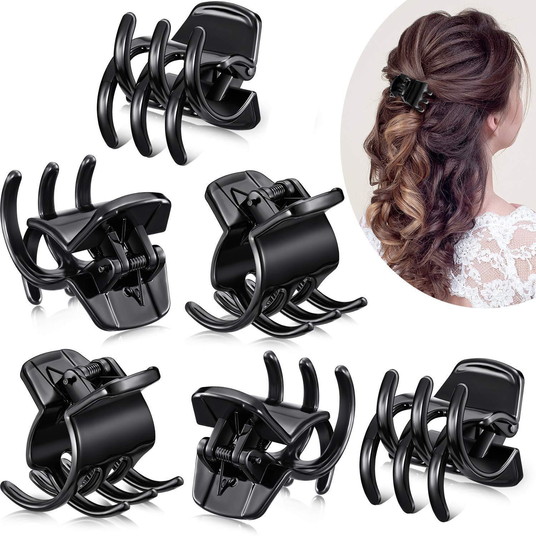 Resin Hair Claw Clip Small Hair Clamp For Girl Girls Gift Girlish Hair Clip Medium hollow Hair Claws for Women Hair Accessories