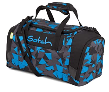 4e0071ea9f000 Satch MATCH by Ergobag - 3tlg. Set Schulrucksack - Blue Triangle (SchlamperBox  und Sporttasche)  Amazon.de  Koffer